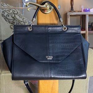 💕 Guess large black satchel shoulder bag 💕